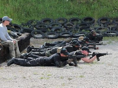 Боевая тренировка телохранителей в Киеве
