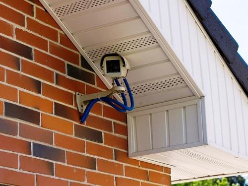 фото камера видеонаблюдения на дачу