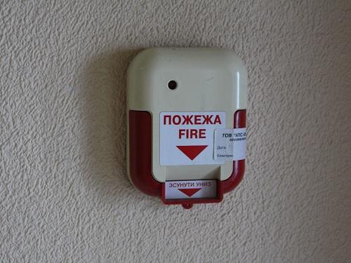 фото установка пожарной сигнализации