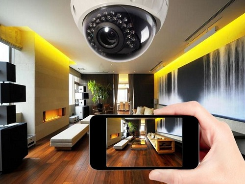 фото видеонаблюдение в квартире