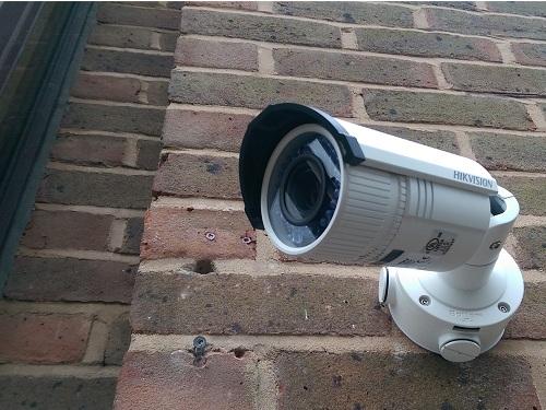 фото системы видеонабюлдение на улице